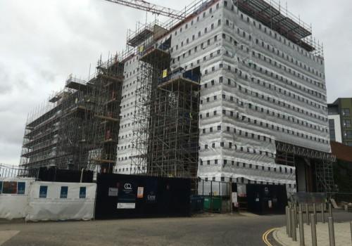 NJS Scaffolding for Crest Nicholson, Southampton