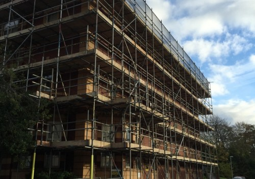 NJS Scaffolding for Linden Homes, Graylingwell, Chichester