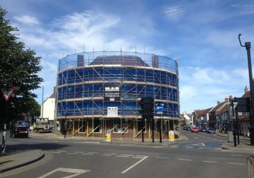 NJS Scaffolding for Mecabury Properties, Unicorn House, Chichester
