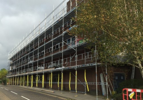 NJS Scaffolding for PMC Construction, Horsham