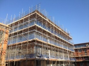 Scaffolding in West Sussex