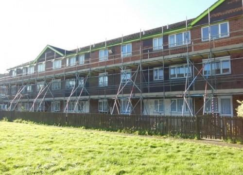 Residential Scaffolding in Littlehampton